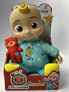Cocomelon Musical Bedtime Jj Doll Soft 10 Plush Sing Toy Youtube New Ships Fast