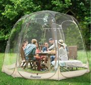 Bubble Tent Pop Up Canopy Family Camping Gazebo 12x12 Beige- Igloo