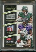 2015 Immaculate Nelson Agholor Buck Allen Leonard Williams Tag Patch 1/1 Usc
