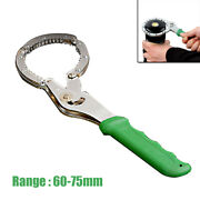 Adjustable Oil Filter Wrench Handcuff Style Remover Tool For Car Truck 240mm Kit