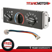 A/c Heater Control W/blower Motor Switch For 1999-04 Jeep Wrangler Tj 55037473ab