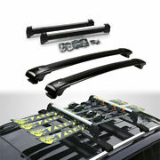 4pcs Ski Snowboard Roof Top Mounted Carrier Rack Fit For Nissan Rogue 2014-2020