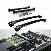 4pcs Ski Snowboard Roof Top Mounted Carrier Rack Fit For Land Cruiser 2008-2021
