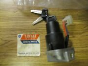 Nos 1978-83 Yamaha Xs650 Xs750 Xs850 Rd400 Ignition Switch Key New Steering Lock