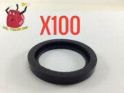 100 New Rubber Gaskets Gas Can Spout Gott Rubbermaid Blitz Wedco Scepter Eagle