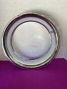 4 Stainless Triple Chrome Plated Beauty Rings For The Original 15x8 Rally Wheels