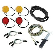 Wesbar Red/amber Round Led Clearance Marker Light