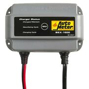Auto Meter 12v 1.5 Charging Amps Compact Automatic Battery Charger And Extender