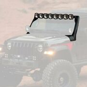 For Jeep Gladiator 20 Roof Mounted Gravity 50 160w Combo Beam Led Light Bar Kit