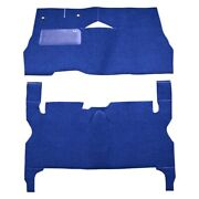 For Buick Roadmaster 55-56 Carpet Essex Replacement Cut And Sewn Lapis Blue