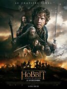Poster Roll 15 11/16x23 5/8in The Hobbit, Battle Of 5 Armed - Peter Jackson New
