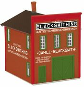 30-90576 Mth Rail King 2-story Livery Building Cahilland039s Blacksmithing