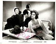 H-susan Hayward Autograph B And W Photo From Stolen Hours W/coa
