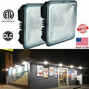 45w 70w Led Canopy Driveway Ceiling Lights Waterproof For Warehouse Workshop Gym