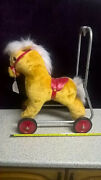 Vintage Horse On Wheels, Lefrey Toys Made In Great Britain ,[ New Old Stock][c]