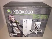 Xbox 360 Final Fantasy Xiii 13 Special Edition 250 Gb Console System Brand New
