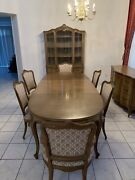 Vintage Drexel French Country Dining Room Set