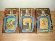 Vintage 1968 Beamand039s Choice Americana Collectorand039s Edition Iii Whiskey Decanters