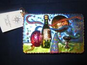 Radko 2001 New Years Postcard Christmas Ornament New With Tag