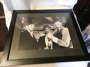 Frank Sinatra Dean Martin Sammy Davis Robin And The Seven Hoods Framed Print