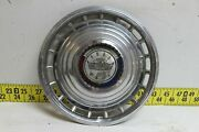 Used Oem Ford Single 14 Hubcap Wheel Cover 1963 Galaxie 500 2825