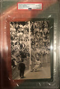 Sandy Amoros Type 1 Original Photo 1955 Final Out In Ws Dodgers 1st Title🏆psa🔥