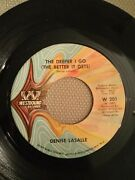 Denise Lasalle The Deeper I Go / Now Run And Tell That Westbound Records 45