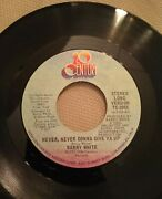 1973 Barry White Never, Never Gonna Give Ya Up Short / Long Version 45 7