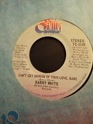 1974 Barry White Just Not Enough / Can't Get Enough Of Your Love, Babe - 7 45