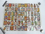 Lot Of 4 1979 Topps Chewing Gum Inc. Wacky Packages Series 1 Uncut Sheets