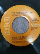The Hues Corporation All Goinand039 Down Together/ Rock The Boat - 7 Vinyl 45 Rca