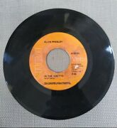 Elvis Presley Any Day Now / In The Ghetto - 7 Vinyl 45 Rpm Rca Records