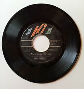 1973 Ann Peebles I've Been There Before/i Can't Stand The Rain 45 - Hi Records