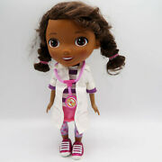 Disney Just Play Doc Mcstuffins Doll Talking Doctor White Coat With Stethoscope