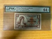 Mpc Series 521 1 Dollar 1st Printing Pp 47 - Pmg 65 Uncirculated