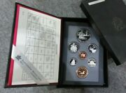 1971 - 1991 Canadian 7 Coin Proof Year Sets In Original Boxes Multi-listing