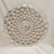 American Fostoria Punch Bowl Underplate Torte Or Serving Plate