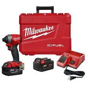 M18 Fuel 18-volt Lithium-ion Brushless Cordless 1/4 In. Hex Impact Driver Kit