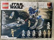 New Lego Star Wars 75280 501st Legion Clone Troopers Battle Pack And Droids