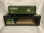 ✅weaver Evergreen Ps-1 40' Box Car W/ Lionel Type Couplers O Scale Train