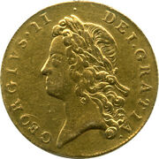 Great Britain 1739 George Ii Gold 2 Guineas Pcgs Vf Details