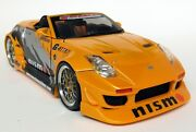 Muscle Machines 1/18 Scale And03904 Nissan 350z Turbo Drag Spec Diecast Model Car