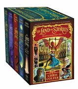 The Land Of Stories Hardcover Gift Set By Chris Colfer New Collection Boxset