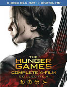 The Hunger Games Complete 4 Film Collection Blu-ray, 2016 New Free Shipping