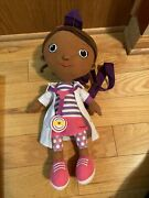Plush Backpack - Doc Mcstuffins 15 Soft Doll Toys Gifts Toys