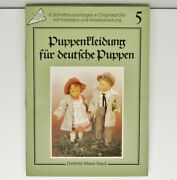 Vtg.doll Clothes For German Dolls 5 Special Cover - July 1, 1996 Rare