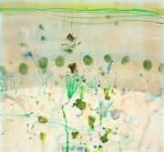 John Olsen Spring At The Lily Pond Signed Limited Edition Print 65cm X 70cm