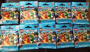 Lego 8805 Series 5 Minifigures Minifig Cmf Lot Of 10 New Sealed Mystery Packs