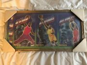 Signed Collectable Nba Poster 1/25 Patrick Ewing Alanzo Mourning Shawn Kemp