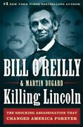 Killing Kennedy Killing Lincoln By Bill O'reilly In Sleeve Hardcover Dust Jacket
